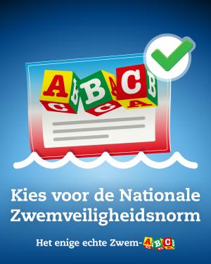 kies voor de Nationale Zwemvaardigheidsnorm