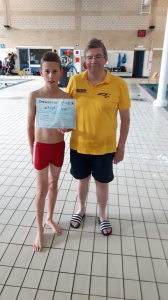 Zwemvaardigheidsdiploma 4 behaald